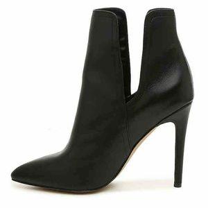 Steve Madden Women's Zanta Leather Heel Ankle Boot